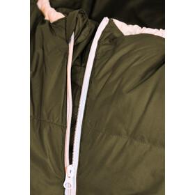 Grüezi-Bag Biopod DownWool Ice CompostAble Sac de couchage, moss green